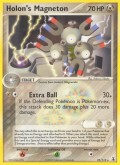 Holon-Magneton aus dem Set EX Delta Species