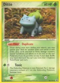 Ditto aus dem Set EX Delta Species