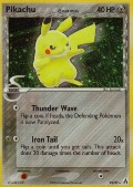 Pikachu aus dem Set EX Legend Maker