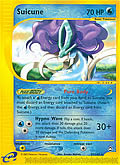Suicune aus dem Set E-Aquapolis