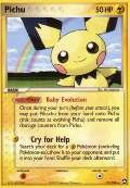 Pichu aus dem Set EX Power Keepers