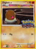 Digda aus dem Set Pokémon Rumble