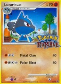 Lucario aus dem Set Pokémon Rumble