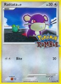 Rattfratz aus dem Set Pokémon Rumble