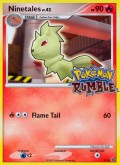 Vulnona aus dem Set Pokémon Rumble