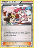 Pokémon-Center-Dame aus dem Set XY Generationen