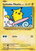 Surfendes Pikachu aus dem Set XY Evolution