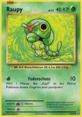 Raupy aus dem Set XY Evolution
