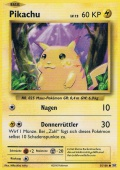 Pikachu aus dem Set XY Evolution