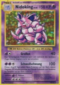 Nidoking aus dem Set XY Evolution