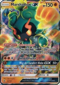 Marshadow GX aus dem Set Nacht in Flammen