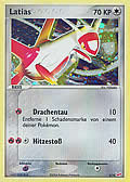 Latias aus dem Set EX Trainer Kit