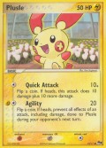 Plusle aus dem Set POP 1