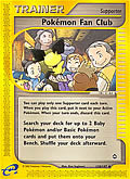 Pokémon Fan-Club aus dem Set Themendeck: Rocky Beach Deck
